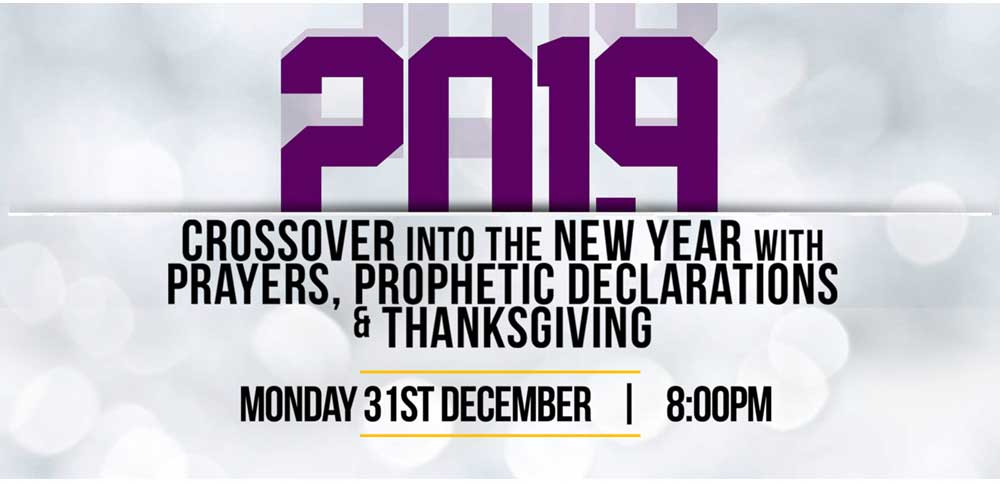 Crossover into The New Year into the New Year | Church of His
